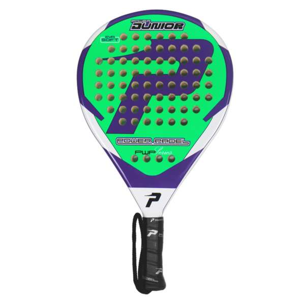 - pala power padel JUNIOR LIMA completa