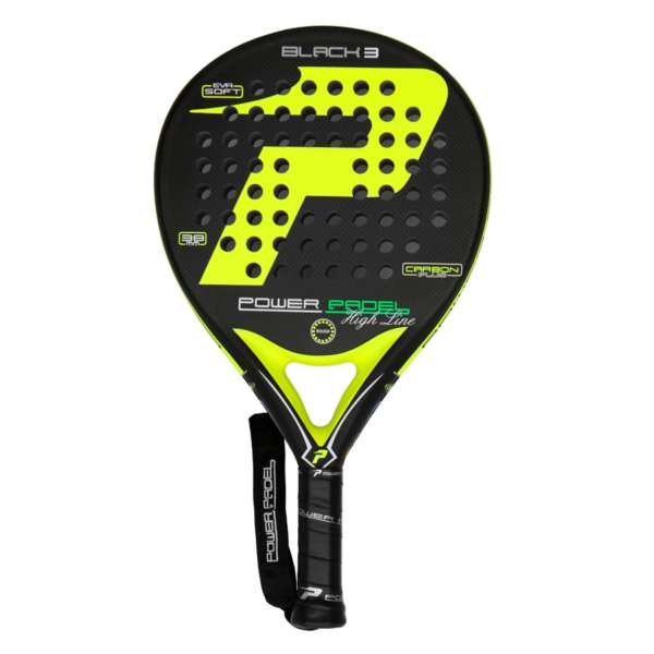 pala power padel BLACK 3 completa
