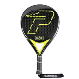 Pala de padel BLACK BRILLO II | PWP: Power Padel