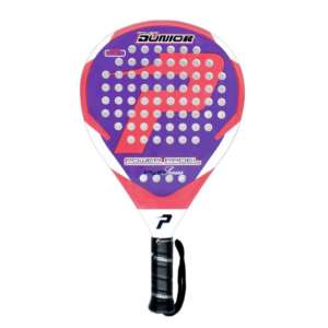 - pala power padel JUNIOR ROSA completa